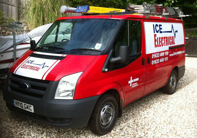 ICE Solar Van