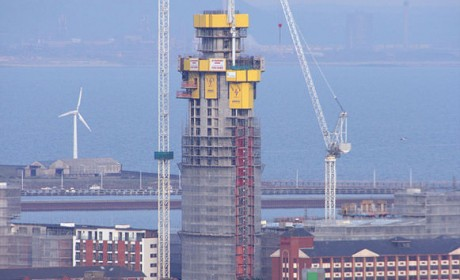Meridian Tower Swansea – Installation of Access control, Call System and CCTV